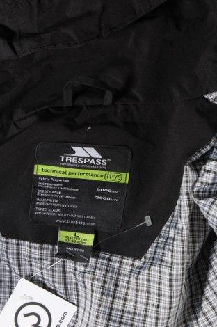 Мъжко спортно яке Trespass, Размер L, Цвят Черен, Полиестер, Цена 99,00лв.