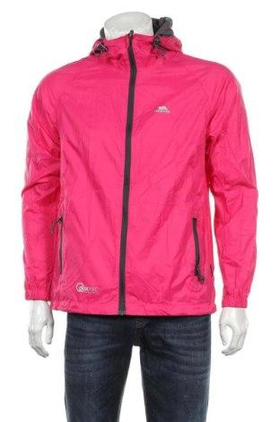 Мъжко спортно яке Trespass, Размер S, Цвят Розов, Полиамид, Цена 61,60лв.