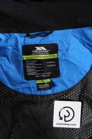 Мъжко спортно яке Trespass, Размер L, Цвят Черен, Полиамид, Цена 70,76лв.
