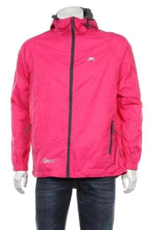 Мъжко спортно яке Trespass, Размер M, Цвят Розов, Полиамид, Цена 85,40лв.