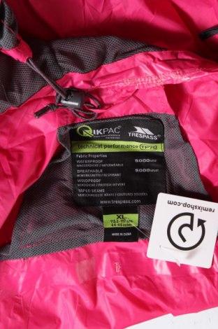 Мъжко спортно яке Trespass, Размер XL, Цвят Розов, Полиамид, Цена 85,40лв.