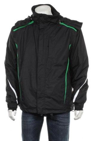 Мъжко яке, Размер L, Цвят Черен, Полиестер, Цена 69,93лв.