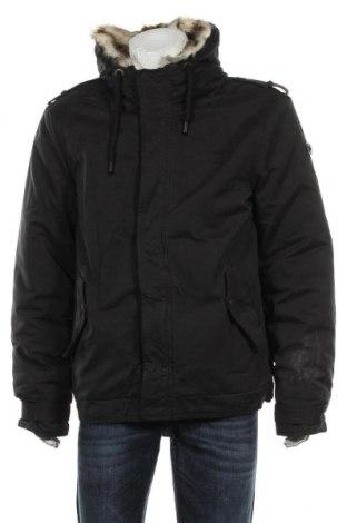 Мъжко яке Dreimaster, Размер XL, Цвят Черен, 55% памук, 37% полиестер, 7% полиамид, Цена 80,55лв.