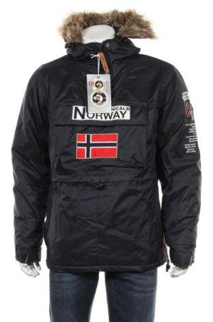 Мъжко яке Geographical Norway, Размер S, Цвят Син, Полиестер, Цена 196,37лв.