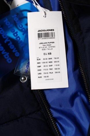 Мъжко яке Jack & Jones, Размер XS, Цвят Син, Полиамид, Цена 100,17лв.