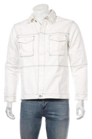 Мъжко яке Mennace, Размер S, Цвят Бял, Памук, Цена 64,97лв.