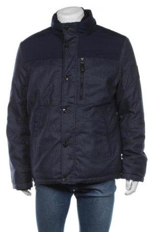 Мъжко яке S.Oliver, Размер XL, Цвят Син, 55% памук, 45% полиестер, Цена 149,25лв.
