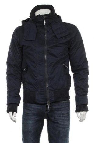Pánská bunda  Superdry, Velikost M, Barva Modrá, 60% bavlna, 40% polyester, Cena  1419,00Kč