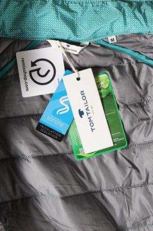 Мъжко яке Tom Tailor, Размер M, Цвят Зелен, Полиестер, Цена 87,45лв.