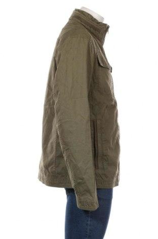 Мъжко яке Tom Tailor, Размер XXL, Цвят Зелен, Памук, Цена 81,95лв.
