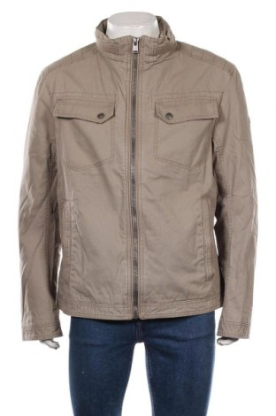 Мъжко яке Tom Tailor, Размер XL, Цвят Кафяв, Памук, Цена 74,50лв.
