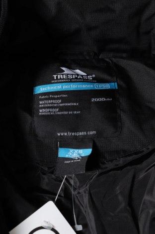 Мъжко яке Trespass, Размер XXS, Цвят Черен, Полиестер, Цена 105,30лв.