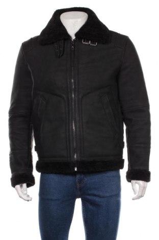 Мъжко яке Zara Man, Размер M, Цвят Черен, Цена 65,10лв.