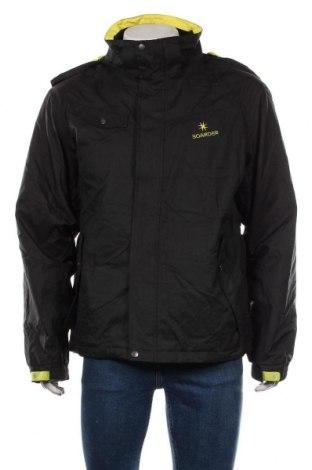 Мъжко яке за зимни спортове Crivit, Размер XL, Цвят Черен, Полиестер, Цена 44,10лв.