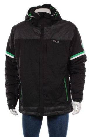Мъжко яке за зимни спортове DLX by Trespass, Размер XL, Цвят Черен, Полиестер, Цена 136,50лв.