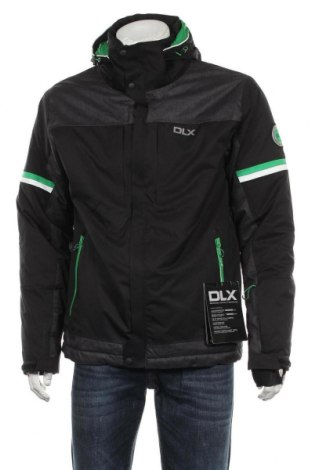 Мъжко яке за зимни спортове DLX by Trespass, Размер M, Цвят Черен, Полиестер, Цена 141,75лв.