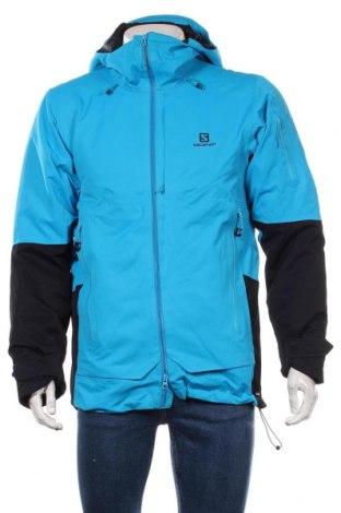 Мъжко яке за зимни спортове Salomon, Размер S, Цвят Син, 100% полиамид, Цена 296,27лв.
