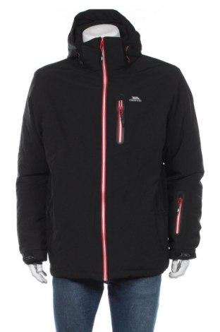 Мъжко яке за зимни спортове Trespass, Размер L, Цвят Черен, 92% полиестер, 8% еластан, Цена 121,50лв.