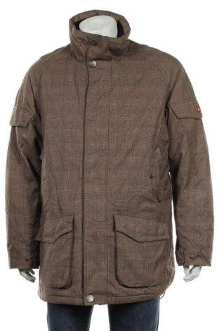 Мъжко яке Wellensteyn, Размер XL, Цвят Кафяв, 65% полиестер, 30% вискоза, 5% други тъкани, Цена 113,40лв.