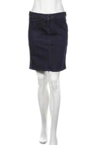 Пола Armani Jeans, Размер M, Цвят Син, 99% памук, 1% еластан, Цена 88,50лв.