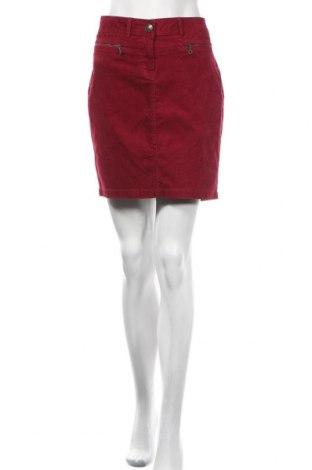 Spódnica Tom Tailor, Rozmiar M, Kolor Czerwony, 98% bawełna, 2% elastyna, Cena 108,00zł