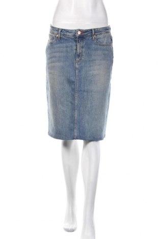 Пола Tommy Hilfiger, Размер M, Цвят Син, 8% памук, 2% еластан, Цена 40,50лв.