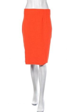 Пола United Colors Of Benetton, Размер M, Цвят Оранжев, 95% полиестер, 5% еластан, Цена 25,20лв.