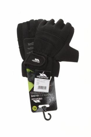 Ръкавици Trespass, Цвят Черен, 85% неопрен, 15% полиестер, Цена 34,30лв.