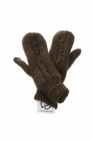 Ръкавици Trespass, Цвят Зелен, Акрил, Цена 21,00лв.