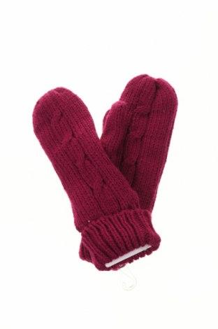 Ръкавици Trespass, Цвят Розов, Акрил, Цена 24,00лв.