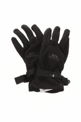 Mănuși Trespass, Culoare Negru, Poliester, Preț 62,76 Lei
