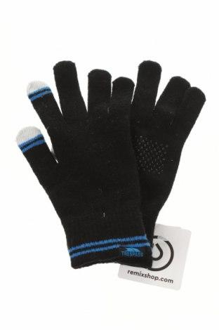 Ръкавици Trespass, Цвят Черен, 85% акрил, 15% полиестер, Цена 21,00лв.
