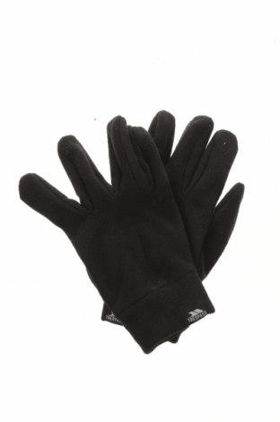 Ръкавици Trespass, Цвят Черен, Полиестер, Цена 21,00лв.