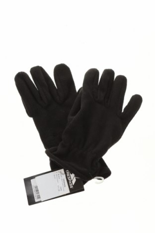 Ръкавици Trespass, Цвят Черен, Полиестер, Цена 24,00лв.