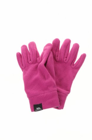 Ръкавици Trespass, Цвят Розов, Полиестер, Цена 21,00лв.