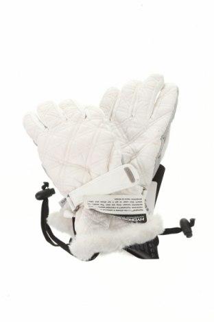 Mănuși pentru sporturi de iarnă Barts, Culoare Alb, Poliester, piele naturală, Preț 152,96 Lei