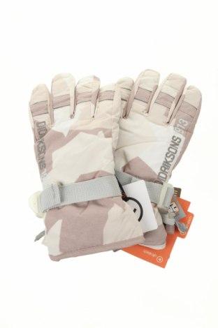 Mănuși pentru sporturi de iarnă Didriksons, Culoare Bej, Poliester, Preț 172,42 Lei