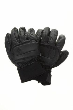 Mănuși pentru sporturi de iarnă Black Diamond, Culoare Negru, Piele naturală, Preț 202,31 Lei