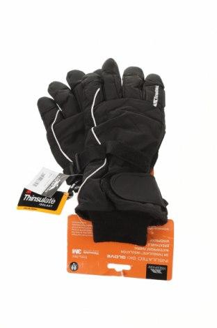 Ръкавици за зимни спортове Trespass, Цвят Черен, Полиестер, Цена 46,50лв.
