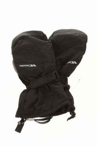 Ръкавици за зимни спортове Trespass, Цвят Черен, Полиамид, Цена 43,50лв.