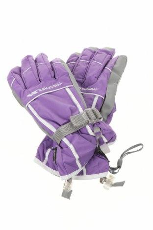 Ръкавици за зимни спортове Trespass, Цвят Лилав, Полиамид, Цена 43,50лв.