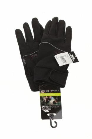 Ръкавици за зимни спортове Trespass, Цвят Черен, 96% полиестер, 4% еластан, Цена 46,50лв.
