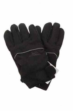 Ръкавици за зимни спортове Trespass, Цвят Черен, 96% полиестер, 4% еластан, Цена 43,50лв.