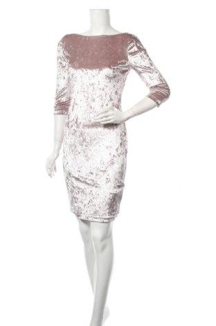 Sukienka Atmosphere, Rozmiar M, Kolor Beżowy, 92% poliester, 8% elastyna, Cena 84,00zł