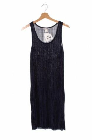 Φόρεμα H&M, Μέγεθος XS, Χρώμα Μπλέ, Πολυεστέρας, Τιμή 22,73€