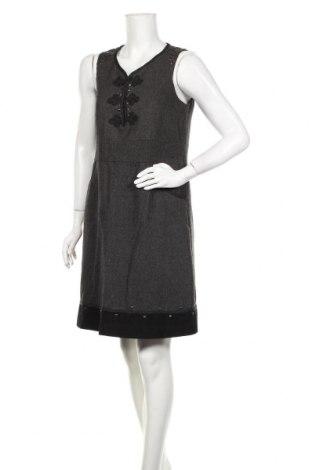 Φόρεμα Kaffe, Μέγεθος M, Χρώμα Γκρί, 70% πολυεστέρας, 30% μαλλί, Τιμή 15,79€