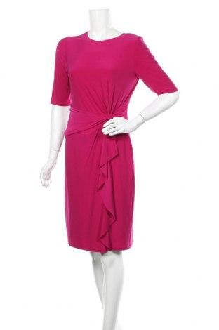 Рокля Ralph Lauren, Размер M, Цвят Розов, 95% полиестер, 5% еластан, Цена 171,75лв.
