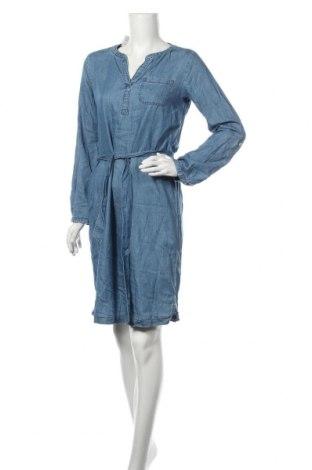 Sukienka Tom Tailor, Rozmiar S, Kolor Niebieski, 66% bawełna, 34% tencel, Cena 141,00zł