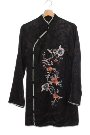 Рокля Zara, Размер S, Цвят Черен, 57% вискоза, 43% лиосел, Цена 51,00лв.