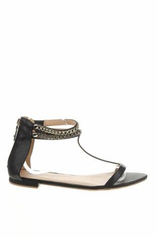 Σανδάλια H&M, Μέγεθος 40, Χρώμα Μαύρο, Δερματίνη, Τιμή 16,70€